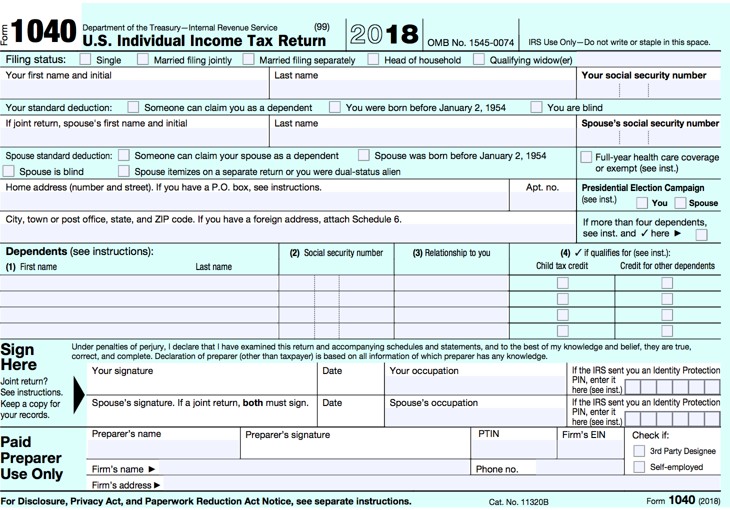 form 1040 credit for other dependents  Posts | Gelman & Pelesh, P.C.